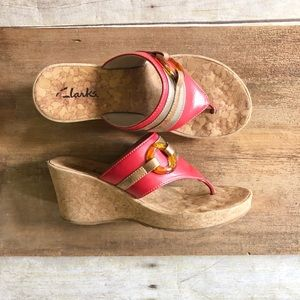 Clarks Shoes - Clarks Wedges Slip On